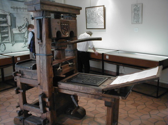 Gutenberg's Printing press
